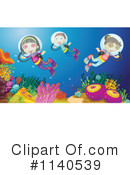 Royalty-Free (RF) Scuba Clipart Illustration #1140539