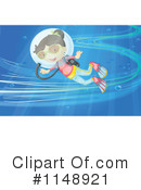Royalty-Free (RF) Scuba Clipart Illustration #1148921
