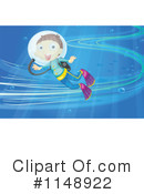 Royalty-Free (RF) Scuba Clipart Illustration #1148922