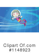 Royalty-Free (RF) Scuba Clipart Illustration #1148923