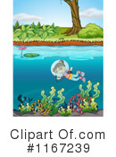 Royalty-Free (RF) Scuba Clipart Illustration #1167239