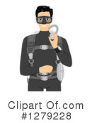 Scuba Clipart #1279228 by BNP Design Studio