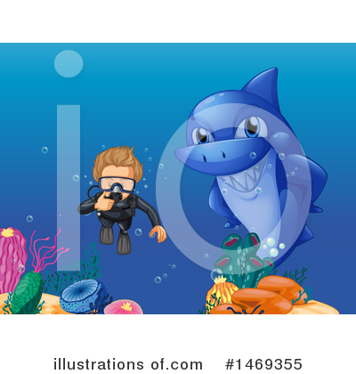Shark Clipart #1469355 by Graphics RF