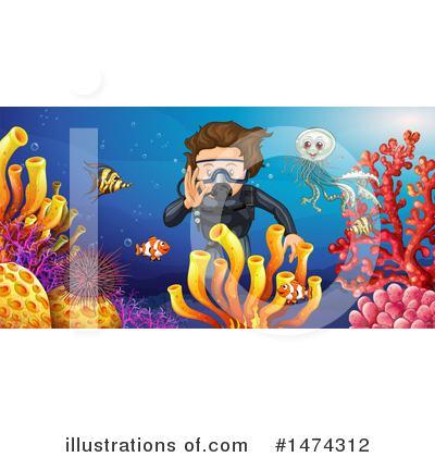 Reef Clipart #1474312 by Graphics RF