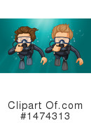 Scuba Clipart #1474313 by Graphics RF