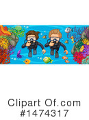 Scuba Clipart #1474317 by Graphics RF