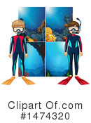 Scuba Clipart #1474320 by Graphics RF