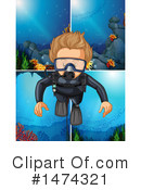 Scuba Clipart #1474321 by Graphics RF