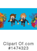 Scuba Clipart #1474323 by Graphics RF
