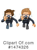 Scuba Clipart #1474326 by Graphics RF