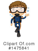 Scuba Clipart #1475841 by Graphics RF