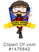Scuba Clipart #1475842 by Graphics RF