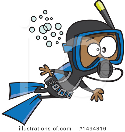 Scuba Clipart #1494816 by toonaday