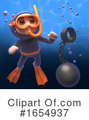 Scuba Clipart #1654937 by Steve Young