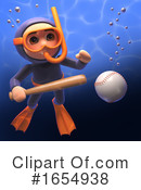 Scuba Clipart #1654938 by Steve Young