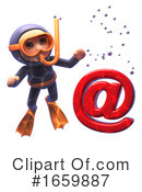 Scuba Clipart #1659887 by Steve Young