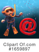 Scuba Clipart #1659897 by Steve Young