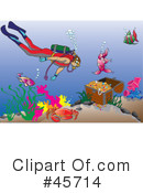 Royalty-Free (RF) Scuba Clipart Illustration #45714