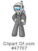 Royalty-Free (RF) Scuba Clipart Illustration #47707