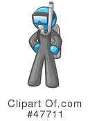 Royalty-Free (RF) Scuba Clipart Illustration #47711