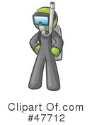 Royalty-Free (RF) Scuba Clipart Illustration #47712