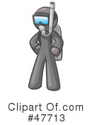 Royalty-Free (RF) Scuba Clipart Illustration #47713
