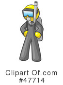 Royalty-Free (RF) Scuba Clipart Illustration #47714