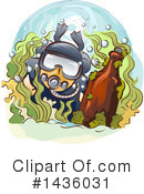 Scuba Diver Clipart #1436031 by BNP Design Studio