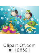 Royalty-Free (RF) Scuba Diving Clipart Illustration #1126621