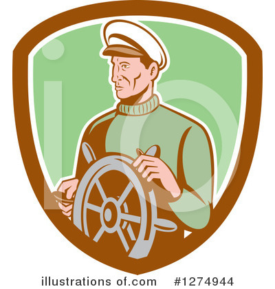 Fisherman Clipart #1274944 by patrimonio