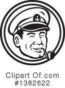 Royalty-Free (RF) Sea Captain Clipart Illustration #1382622