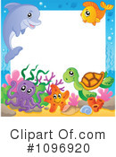 Royalty-Free (RF) sea life Clipart Illustration #1096920