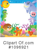 Royalty-Free (RF) Sea Life Clipart Illustration #1096921