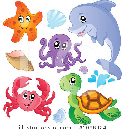 Sea Shell Clipart #1096924 by visekart