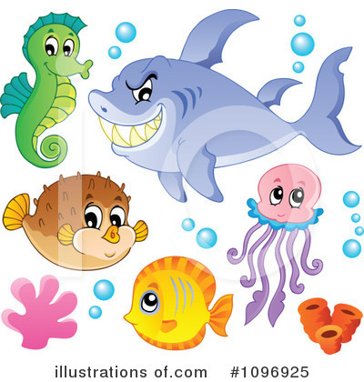 Squid Clipart #1096925 by visekart