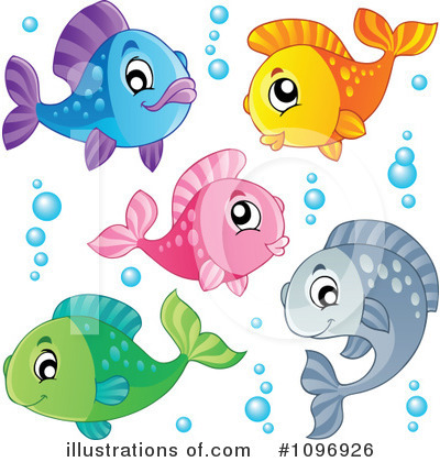 Goldfish Clipart #1096926 by visekart