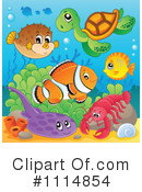 Sea Life Clipart #1114854 by visekart