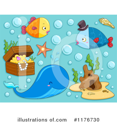 Seashell Clipart #1176730 by BNP Design Studio