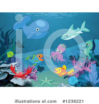 Fish Clipart #1236221 by Pushkin