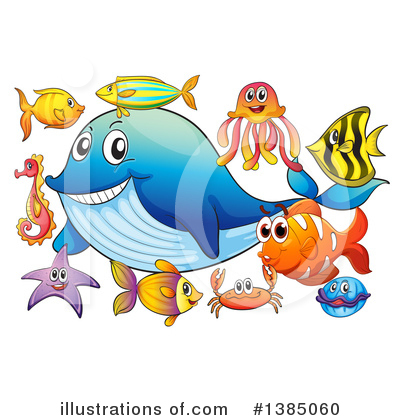 Whale Clipart #1385060 by Graphics RF