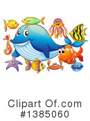 Sea Life Clipart #1385060 by Graphics RF