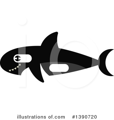 Whale Clipart #1390720 by Vector Tradition SM