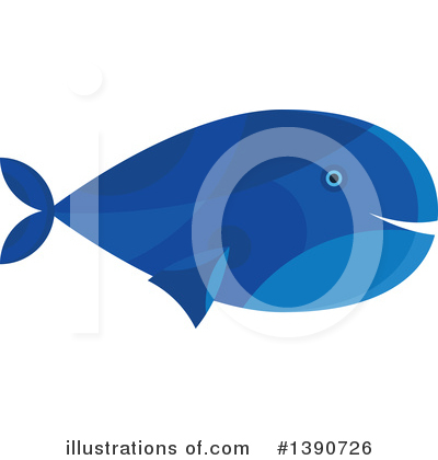 Whale Clipart #1390726 by Vector Tradition SM