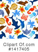 Sea Life Clipart #1417405 by Vector Tradition SM