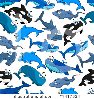 Hammerhead Shark Clipart #1417634 by Vector Tradition SM