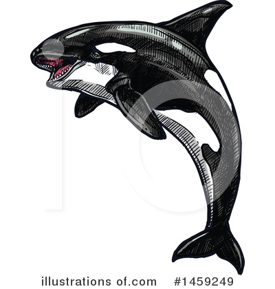 Royalty-Free (RF) Sea Life Clipart Illustration by Vector Tradition SM - Stock Sample #1459249