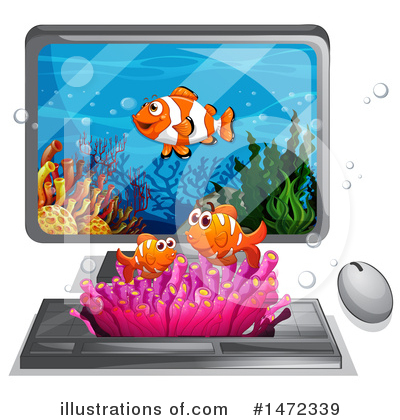 Reef Clipart #1472339 by Graphics RF