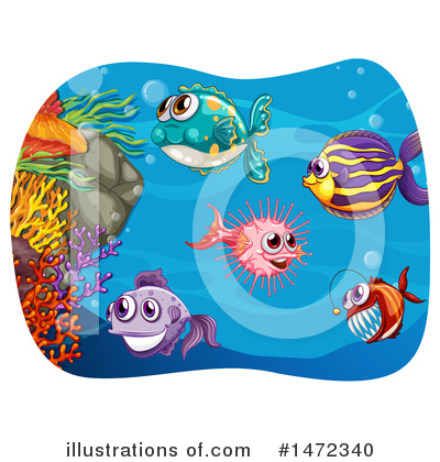 Reef Clipart #1472340 by Graphics RF