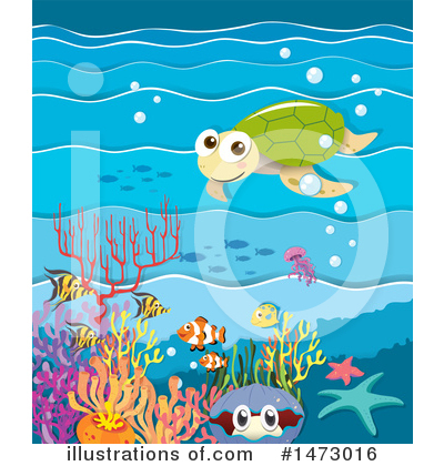 Reef Clipart #1473016 by Graphics RF