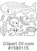 Sea Life Clipart #1580115 by visekart
